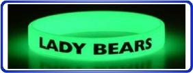 Bracelets en silicone personnalisé, bracelets en silicone lumineux