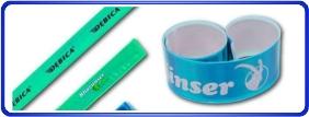 Bracelets slap personnalisé